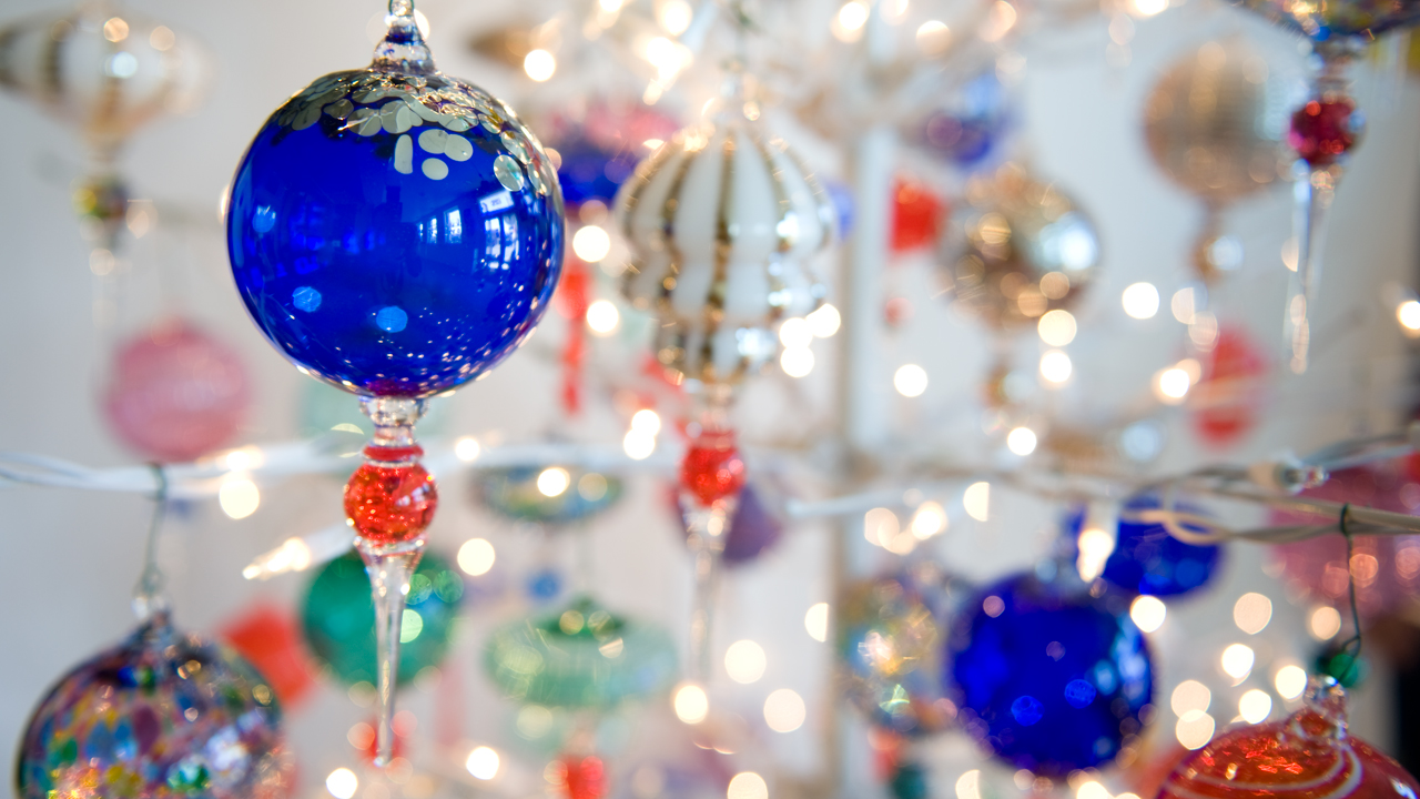 Glass Christmas Ornaments