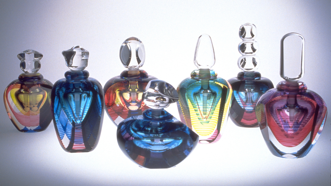 Paper Weights and Perfume Bottles