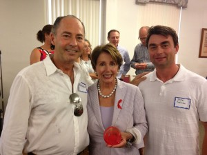 Kit, Dmitri with Nancy Pelosi
